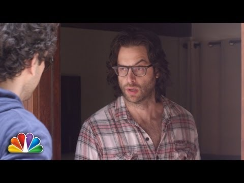 Stars of NBC's Undateable do some grass-roots marketing.