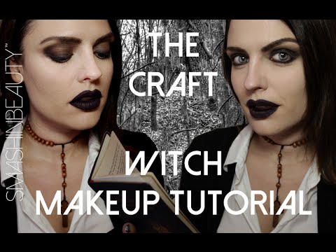 The Craft Witch Halloween Makeup Tutorial 2014 (Nancy Downs)