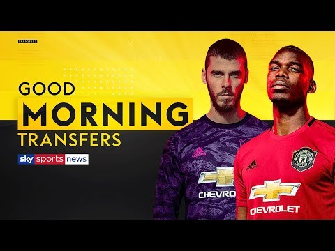 What's The Latest On Pogba, De Gea And Lukaku's Man United Futures? | Good Morning Transfers