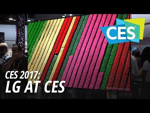 CES 2017: LG at CES