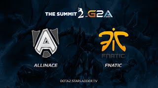Fnatic vs Alliance, game 1