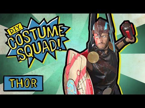 Make Thor's Gladiator Suit, Shield & Hammer - DIY Costume Squad