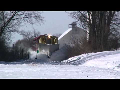 Spreader - On February 1-2, 2011 the Midwest was hit with a record-breaking snowstorm/blizzard. 20 inches of snow fell in the Chicago area, followed by strong winds. WS...