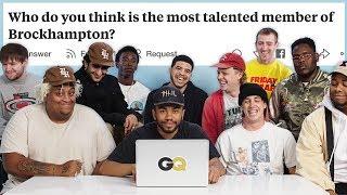 BROCKHAMPTON Goes Undercover on Reddit, YouTube and Twitter | GQ