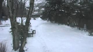 GWC Time Lapse--January 5, 2014--Freezing Rain