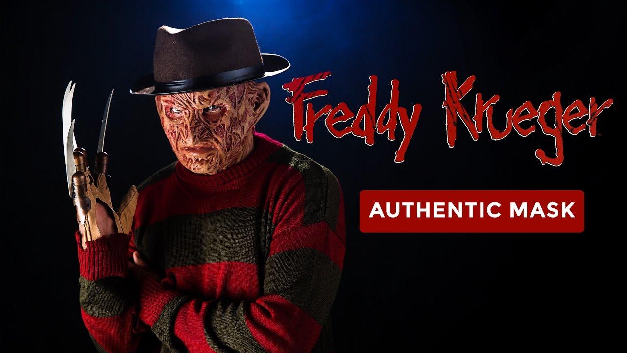 Authentic Freddy Krueger Mask