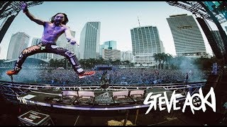 Steve Aoki Drops Only - Ultra Music Festival Miami 2018