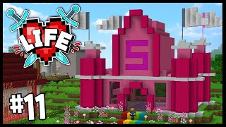 I'VE JOINED THE 5 HEART GANG.. (I DIED AGAIN..)   Minecraft X Life SMP   #11