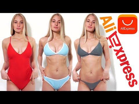 КУПАЛЬНИКИ С АLIЕХРRЕSS Примерка и Ожидание vs Реальность - DomaVideo.Ru