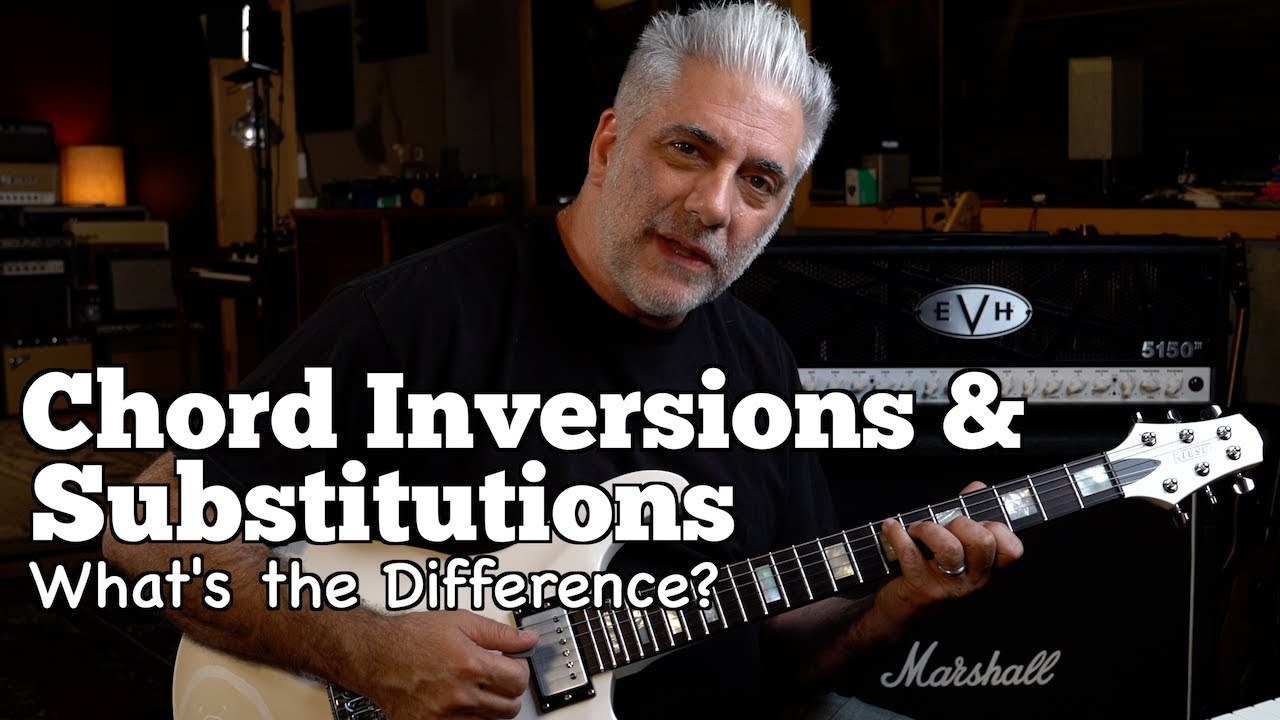 Chord INVERSIONS and WHY You Should Learn Them