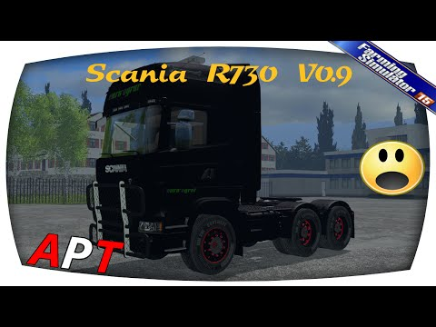 Scania R730 Euro Farm v0.93 beta