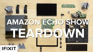 Is there an echo in here? Seems like Alexa's talking to us from a lot of devices now. The new Echo Show adds a screen to bring even more Alexa, and now she watches you while she listens. Creepy? Maybe. A little endearing? Okay yeah, a little. Hey Alexa, let's Drop In on another teardown!Check out the teardown!https://www.ifixit.com/Teardown/Amazon+Echo+Show+Teardown/94625?utm_source=EchoShowTD&utm_medium=description&utm_campaign=YouTubeWe used our Pro Tech Toolkit to take apart the Echo Show!https://www.ifixit.com/Store/Parts/Pro-Tech-Toolkit/IF145-307-1?utm_source=EchoShowTD&utm_medium=description&utm_campaign=YouTubeSubscribe to our channel for all our latest teardown and repair videos!https://www.youtube.com/subscription_center?add_user=ifixityourselfFollow us on Twitter: https://twitter.com/ifixitCheck us out on Facebook: https://www.facebook.com/iFixit