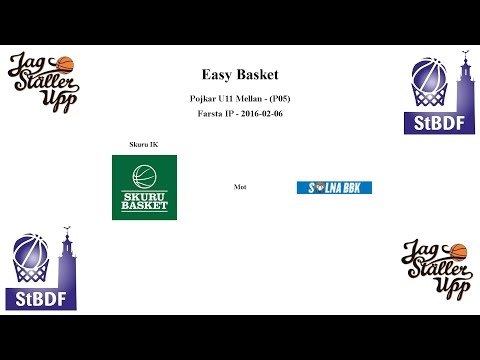 Skuru Basket (P05) mot Solna BBK - EB - 2016-02-06