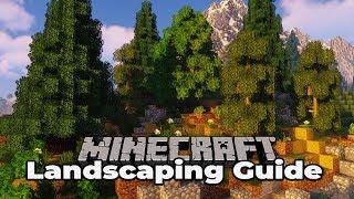 Custom Terraforming : Minecraft 1.13 Survival Landscaping Guide #4 Tutorial Let's Play