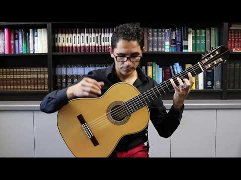 Estudio #6 by Sor - German Vazquez Rubio (Hauser Model) Classical Guitar