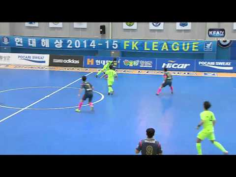 [현대해상 FK리그 챔피언결정전 2차전] 남자부 전주매그풋살클럽 vs FS서울(2015.03.28)