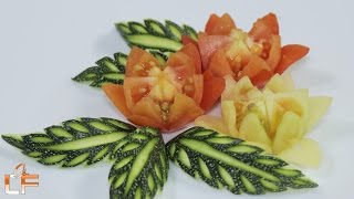 """Please enjoy the video how to make """"tomato flower carving. Within this video regarding """"tomato carving"""" which is very handy for people who are interested in""""fruit & vegetable carving"""". Please help subscribe for more great videos.Tomato Art Playlist: https://www.youtube.com/watch?v=ZcSq7oX6Y-k&list=PLTZOlFP0vpMRDjWYe-X0S3ZjOY2wcoqwILike our fanpage: https://www.facebook.com/lavyfruity/Follow Us On: https://plus.google.com/100862637936254270593This video include term service of:  Tomato, tomato carving, tomato garnish, tomato design, tomato flower carving, tomato flower garnish, tomato flower design, art in tomato flower, how to carve tomato, fruit carving, fruit design, fruit decoration, vegetable carving, vegetable flower carving, vegetable decoration, Томат, томатная резьба, томатный гарнир, томатный дизайн, резьба помидоров, томатный цветочный гарнир, цветочный томатный дизайн, искусство в томатном цветке, как вырезать помидор, вырезание фруктов, дизайн фруктов, украшение фруктами, резьба по дереву, резьба растительного цветка, овощной украшение."""