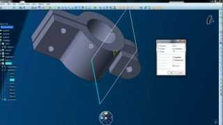 Tutorial de Catia V6, 1° video-tutorial por Silas Andrade