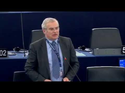 Intervention en session plénière du Parlement sur le réglement mercure