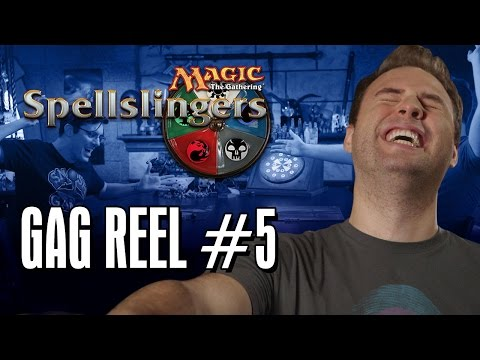 gag - Day9 tries to equip Jovenshire's rhino (no, that's not a euphemism) in this new Spellslingers gag reel! Get your
