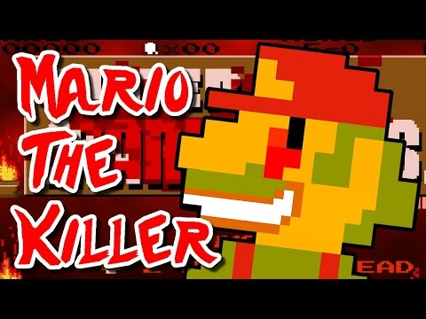 Super Mario .EXE - MARIO THE KILLER!  (Horror Fan Game)
