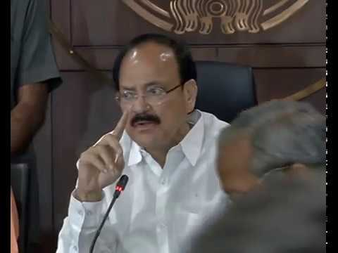 Press Conference by Shri Venkaiah Naidu in Uttar Pradesh : 18.03.2017