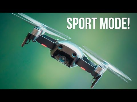 DJI Mavic Air vs. DJI Spark - Sport Mode Is INSANE!
