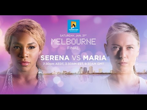 australian open 2015: serena williams vs maria sharapova preview