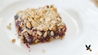 Oatmeal Jam Cookie Bars Recipe - Honeysuckle Catering