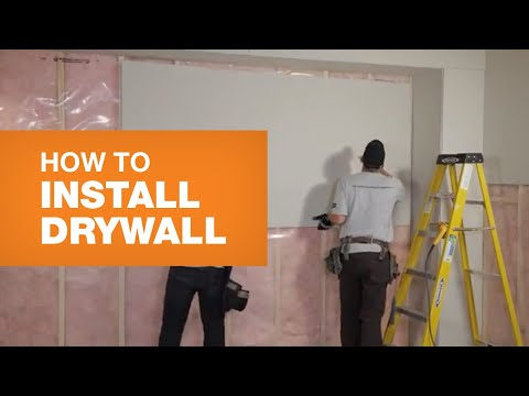 How To Install Drywall (The Right Way)