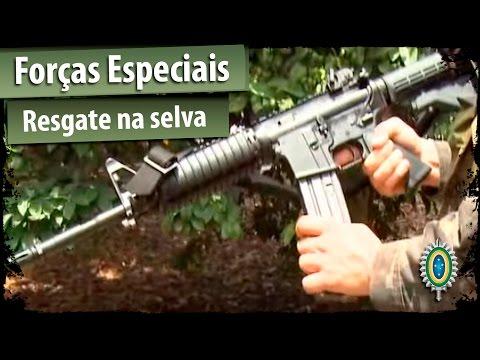 Forças Especiais - Assista, neste vídeo, o exercício de resgate na selva realizado pelas Forças Especiais do Exército Brasileiro, durante a Operação Amazônia 2012.