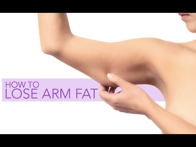 how to lose arm fat best workout for toned arms