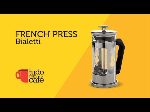 Cafeteira French Press Bialetti - TUDOCOMCAFE.COM