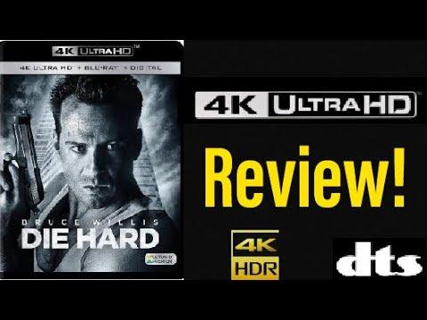 Die Hard (1988) 4K UHD Blu-ray Review!