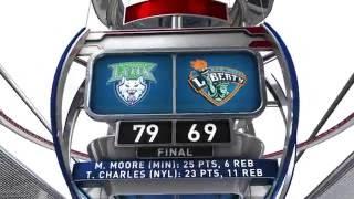 Minnesota Lynx vs New York Liberty by WNBA