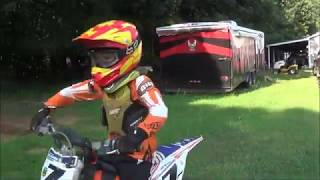 8. DJ Ride ktm65 for the first time