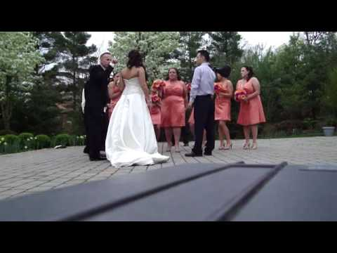 Jenni Lee Wedding Photo Shoot 4-9-2010 (видео)