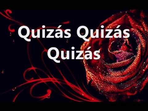 , title : '♥ Quizás Quizás Quizás ♥ Performed by Angelo Di Guardo & Sandy Troina (Lyrics Video)'