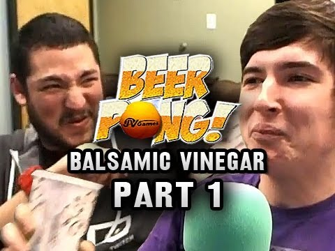 Balsamic Vinegar Beer Pong Part 1 w/ Nova & Immortal (Stream Highlights)