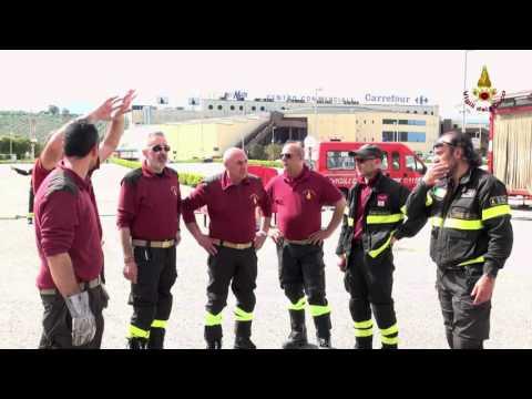 Esercitazione dei vigili del fuoco, testati i sistemi di primo intervento