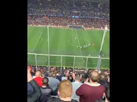 Manchester United Fans At the Camp Nou
