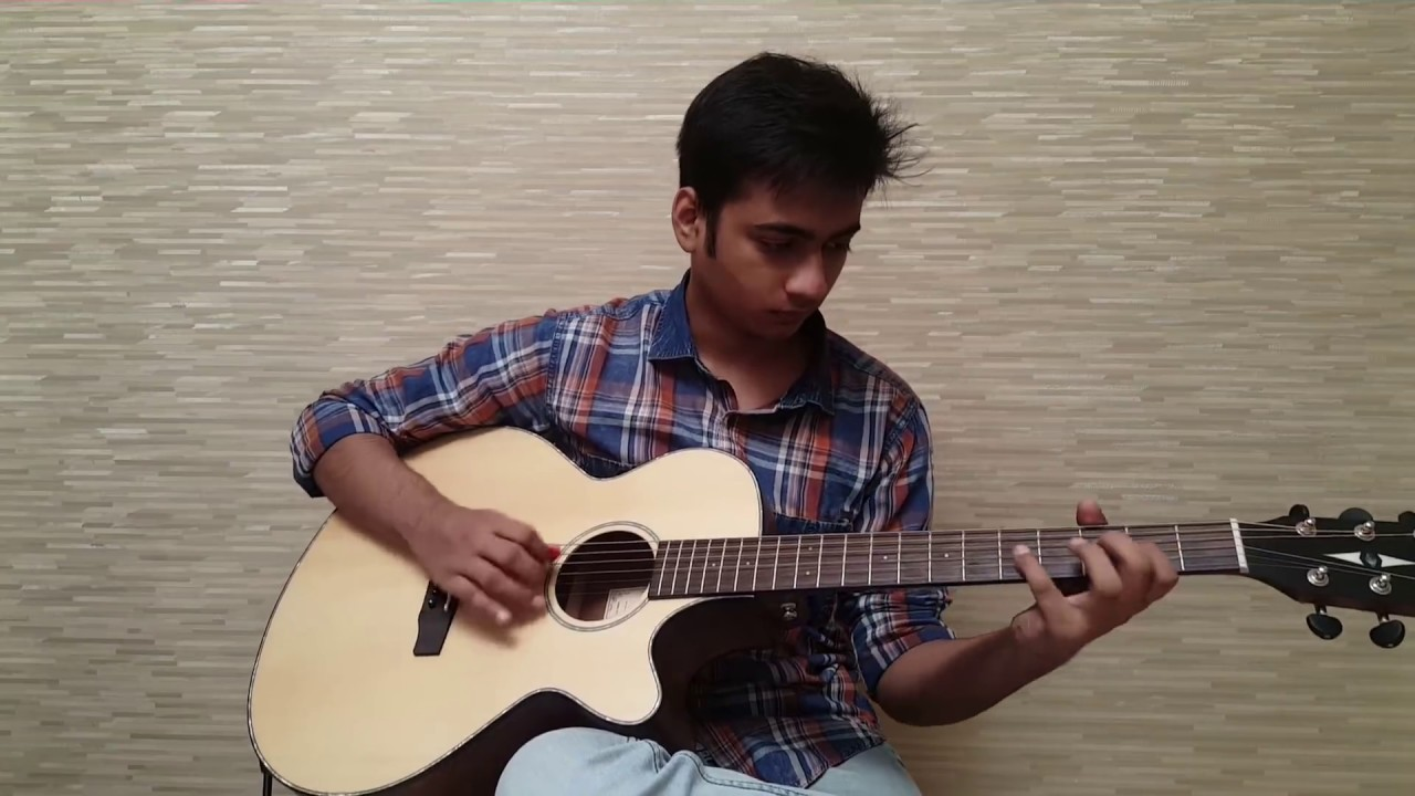 Neele Neele Ambar Par Guitar Instrumental with TABS and Original Solos – Kalakaar