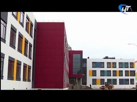 Сергей Митин прокомментировал завершение строительства новой школы в микрорайоне