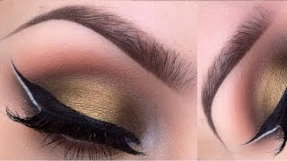 Double wing eyeliner tutorial - YouTube