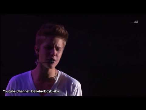 Justin Bieber   Up Acoustic   Concert Mexico Live High Definition