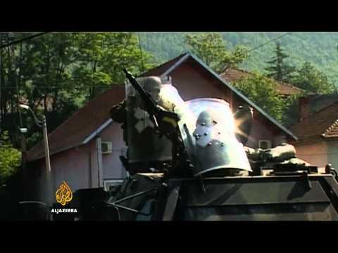 Sukob KFOR-a i lokalnih Srba na sjeveru Kosova - Al Jazeera Balkans
