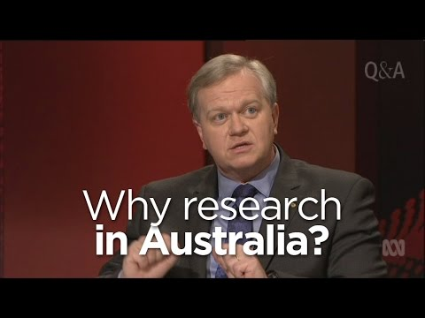 trade - Nobel Prize-winning astrophysicist Professor Brian Schmidt explains why Australia needs to be one of the countries conducting scientific research.
