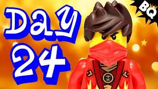 Custom LEGO Ninjago Advent Calendar 2014 Day 24 Unboxing