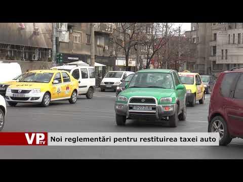 Noi reglementări pentru restituirea taxei auto