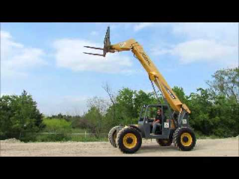 Sold! 2007 Gehl RS8-44 8K Telescopic Reach Forklift Telehandler bidadoo.com